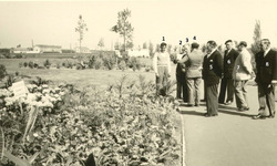 Nieuwpoort-Stad: inhuldiging Leopold II park