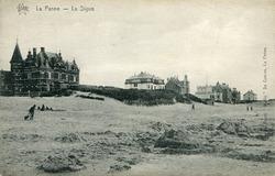 De Panne: De villa's van de erfgenamen Bortier begrenzen de badplaats in het westen