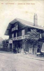De Panne: laiterie du Chalet Suisse