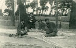Nieuwpoort: de bemanning van de P 95 boet de netten