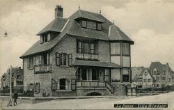 De Panne: villa Windsor, prachtige cottage naar de plannen van Albert Dumont