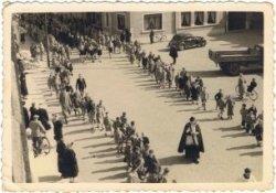 Poperinge: scouts, begrafenis Florent Couttenier