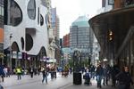 Grote Marktstraat ter hoogte van de Bijenkorf; vervaardiger: Oosterhout, Fotogra…