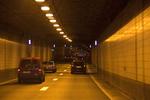 Leidschendam, Sijtwendetunnel in de N14 (Noordelijke Randweg), gezien in noordwe…