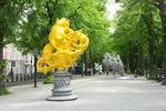 Lange Voorhout, Den Haag Sculptuur onder de titel Vormidable met werk van Vlaams…