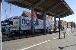 Kranenburgweg, de toegangspoort tot het terrein van de Norfolk Line aan de derde…