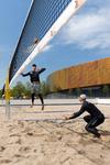 Zuiderpark, Stadsspelen op de Sportcampus, volleybal; vervaardiger: Brobbel, Jur…