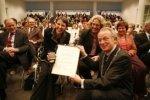 Spui 70, afscheid van wethouder Jetta Klijnsma van Financiën en Cultuur, die ben…