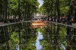 Lange Voorhout, Den Haag Sculptuur met als thema 'Brasil, Beleza'. 'Adrift' van …