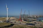 Houtrustweg 505, het Zuiderstrandtheater in aanbouw; vervaardiger: Oosterhout, F…