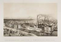 Het fabriekscomplex van de firma L.J. Enthoven aan het Zieke, ter plaatse van de latere Pletterijkad ...
