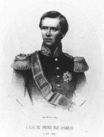 Portret van Willem Karel Hendrik Nicolaas Alexander Frederik (1840-1879) prins van Oranje, zoon van  ...