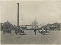 Exterieur Gemeentelijk Slachthuis, ca. 1913