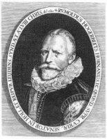 Portret van mr. Rombout Hogerbeets (1561-1625);