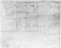 De verandering van de indeling voor een paar kamers van de huizen aan de Lange Vijverberg -Tournooiv ...