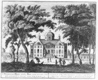 De Oranjezaal, kern van het latere paleis Huis ten Bosch.