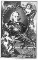 Portret van Willem IV (1711-1751), prins van Oranje, graaf van Nassau, borstbeeld, en face. De prins ...