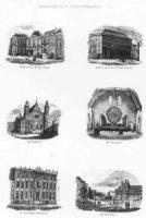 Gezicht naar 's-Gravenhage, Paleis van Z. M. den Koning, Paleis van Z. K. H Prins Frederik, Het Binn ...