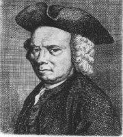 Portret van de graficus Jacob Ernst Marcus (1774-1826).