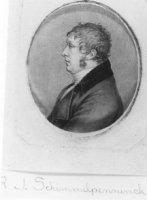Portret van de staatsman Mr. Rutger Jan Schimmelpenninck (1765-1825).