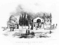 Het witte Wachtje aan het Rijswijkseplein, destijds bedoeld als accijnshuisje bij het binnenkomen va ...