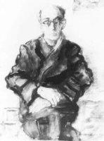 Portret van Leo Wilhelmus ('Leo') Stracké (1897-1963), kunstschilder;