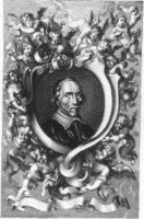 Portret van de staatsman en letterkundige Jacob Cats(1577-1660).
