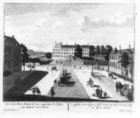 Het Buitenhof gezien in de richting van het Stadhouderlijk Kwartier.