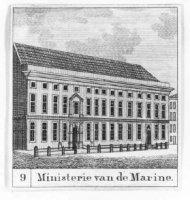Het ministerie van Marine aan het Lange Voorhout.