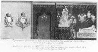 Gestorven Prinses Anna ligt op het zogenoemde praalbed.