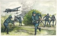 De slag om de Residentie in de meidagen van 1940 (vnl. 9 & 10 mei). Ockenburg, de Nederlandse mi ...