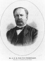 Portret van Mr. Johannes Pieter Roetert Tak van Poortvliet (1839-1904), minister van binnenlandse za ...