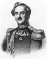 Portret van Jhr. Francois Vincent Henri Antoine ridder de Stuers (1792-1881); in uniform met riddero ...