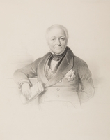 Portret van de staatsman Johan Gijsbert Baron van Soelen (1777-1845).
