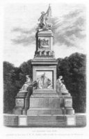 Het monument voor 1813 op het Plein 1813.