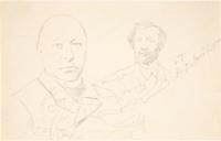 Portret van F.W.Conrad.