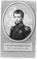 Portret van Frederik (Willem Frederik Karel), Prins der Nederlanden (1797-1881).