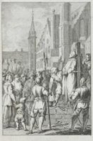 Jan de Bakker sterft als ketter op de brandstapel, 15 september 1525.