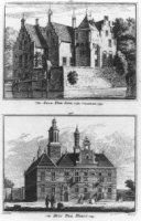 Het Slot Ter Lips en het buitenhuis Ter Horst in Voorschoten.
