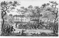 Inhalen van Prins Willem V in 's-Gravenhage op 24 september 1787.