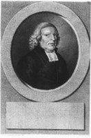Portret van Petrus Faassen de Heer, Theoloog.