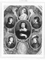 Portret van Constantijn Huygens I (1596-1687), staatsman en letterkundige; Constantijn Huygens was d ...