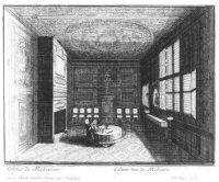 Werkkamer van de onderhandelaar in het Koninklijke Huis te Rijswijk alwaar de onderhandelingen over  ...