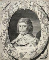 Portret van Frederik Hendrik (1584-1647) prins van Oranje, zoon van Willem van Oranje, borstbeeld, t ...
