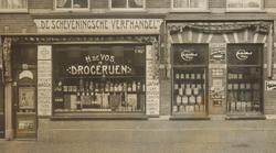 Verfwinkel Den Haag : Vos h. de verffabriek 1905 heden