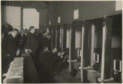 Korte Koediefstraat, schietbanen; vervaardiger: Schimmelpenningh; 1940