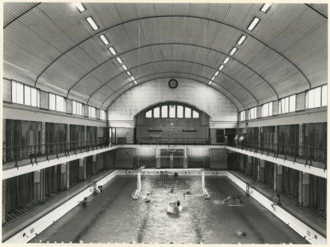 Beeldbank haags gemeentearchief weimarstraat zwembad de