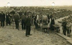 Aanleg nieuw gedeelte Algemene Begraafplaats aan Oude Zeeweg