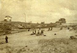 Aanleg van de Rembrandtweg, gezien vanaf de Beethovenweg
