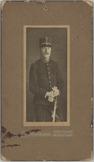 1e luitenant-kwartiermeester C. de Bas, portret driekwart en face